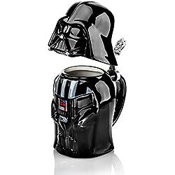Star Wars Jarra de Cerveza Darth Vader 25 cm, Cerámica, Negro, 9 cm