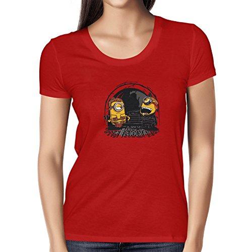 TEXLAB - Banana Twins - Damen T-Shirt Rot