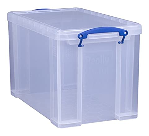 Really Useful Kunststoff-Aufbewahrungsbox leicht robust stapelbar 24 Liter 290 x 465 x 270 mm (Stapelbare Teile)