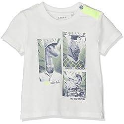 IKKS Junior T Shirt Tete DE Dinosaures Fun, Beige (Blanc Cassé 19), 12-18 Mois (Taille Fabricant:18M) Bébé garçon