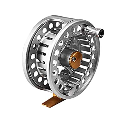 LUCHA Fly Fishing Reel Lightweight Reel 2+1BB with CNC-machined Aluminum Alloy Body 5/6 7/8