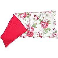 Körnerkissen Wärmekissen Rosali rot Rosen geeignet für die Wärme sowie Kältetherapie uvm. 5 Kammern 50x20cm Getreidekissen preisvergleich bei billige-tabletten.eu