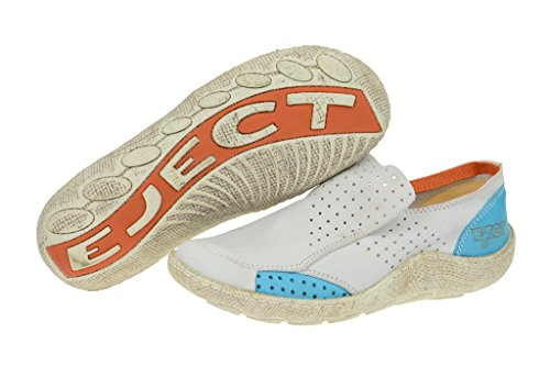 EjectEject Good Slipper - weiß hellblau E-16233 - Sneaker Donna Bianco (bianco)