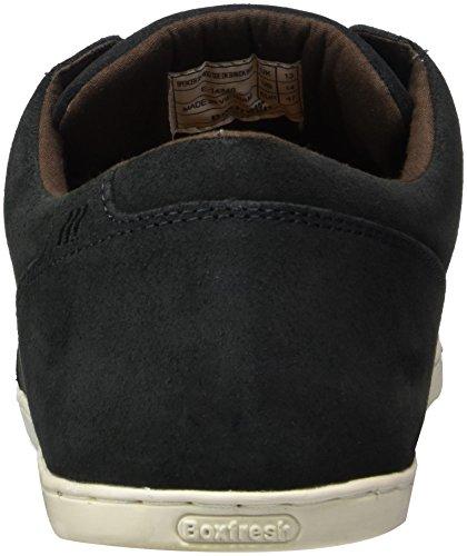 Boxfresh Herren Spencer Sh Wxd Sde Blk Sneaker Schwarz (Dark Shadow)