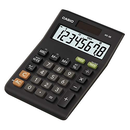 Casio MS-8B 8 Digit Tax Desk Cal...