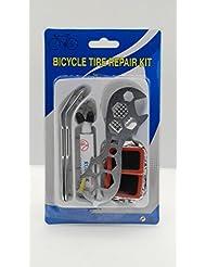 GN empresas bicicleta Herramienta de reparación y kit para reparar pinchazos, parches, Extensa bicicleta Kit de reparación de pinchazos de bicicleta herramientas esenciales para ciclista, autoadhesivo