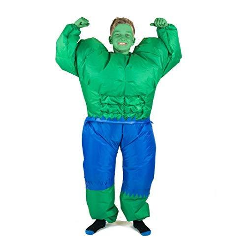 Bodysocks® Disfraz Hinchable de Hulk Niño