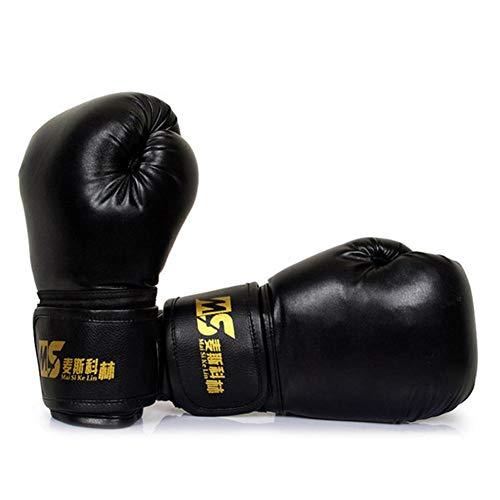 Wovemster Kinder Boxhandschuhe Klein Box-Handschuhe für Kinder von 5-13 Jahre Training Gloves, Muay Thai, Kickboxen und Sandsack Sport (Black)