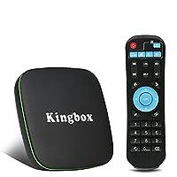 Kingbox Andriod 7.1 K1 TV Box 3D/4K Full HD/BT 4.0,2.4Ghz Wifi,H.265 Smart TV Box