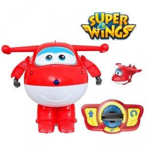 Super Wings - Super wings 116043964. Jett Transformable y radio control