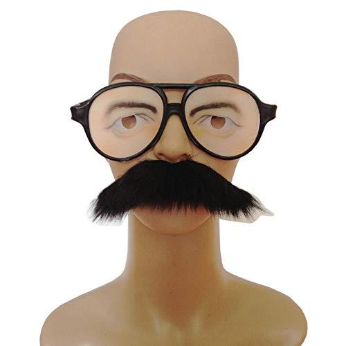 Neuheit Halloween Bart Brillen Lustige Charaktere Gesichts Requisiten Für Cosplay Maskerade Weihnachtsfeier,Beard+Glasses