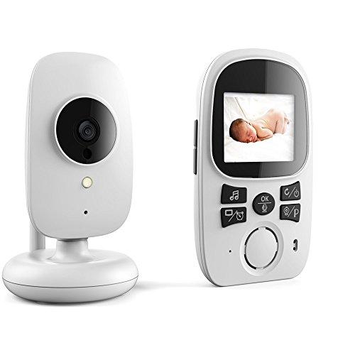 '2.4Wireless Baby Monitor de vídeo, visión nocturna cámara, 2Vías hablar y Vox,...