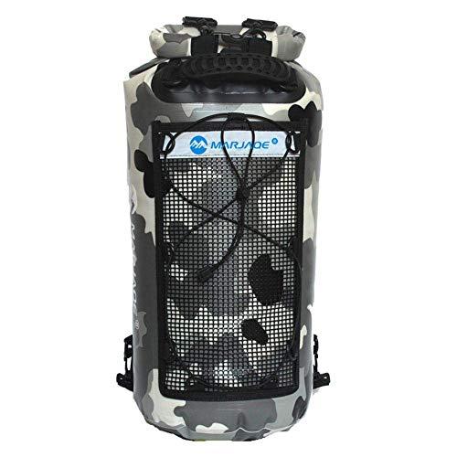 Nlkfgiujhri Outdoor Sporttasche Rucksack, 25L 500D PVC Wasserdichte Taschen Trockenen Sack, Für Kanu Kajak Rafting Reise (Color : 2, Size : -)