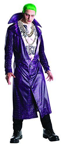 Rubies 3820116 - The Joker Suicide Squad Deluxe - Adult, Action Dress Ups und Zubehör, One (Kostüme Jocker)
