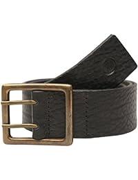 Viari Leather Black Belt