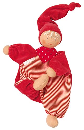Käthe Kruse 73522, Gugguli rot - Puppe Baby Tuch