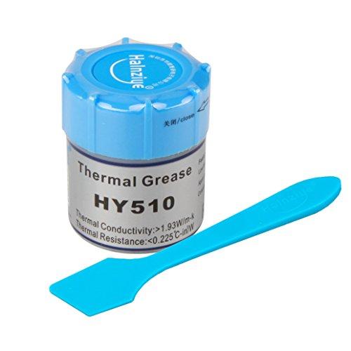 Wärmeleitpaste für CPU halnziye HY51010g Grau 1.93W/m-k Thermal Grease Compound-Prozessoren, VGA, LED, Chipsatz, Radiator and Other PC Components aus Thermo wärmeleitfett