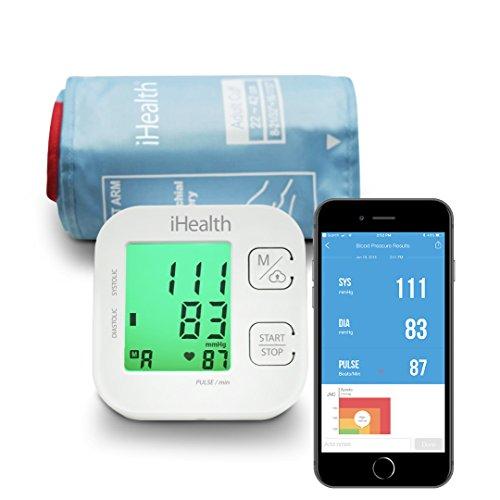 iHealth TRACK KN-550BT Vernetztes Oberarm-Blutdruckmessgerät