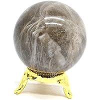 Preisvergleich für Natur Edelstein Kugel Ball Aura Balancing metaphysisch Ball Crystal Healing Ball poliert Stein Smoky 50-60mm