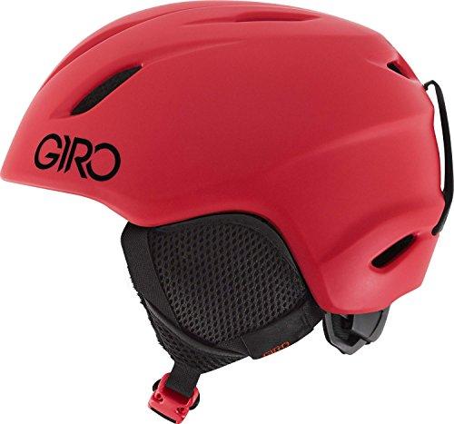 GIRO LAUNCH 18/19 Junior Kinder Skihelm Snowboardhelm Ski Snowboard Helm 240115(MATTE BRIGHT RED,S (52 - 55.5cm)) -