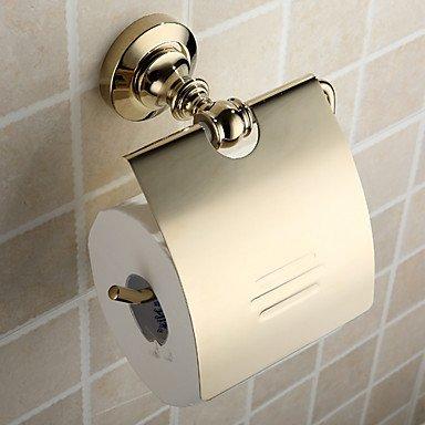 PIGE Messing antik ti-PVD-Wand-WC-Papierhalter