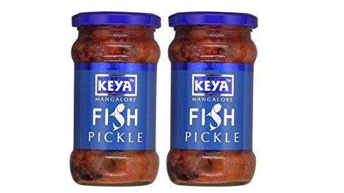 Keya Mangalore Fish Pickle, 270g (pack Of 2)