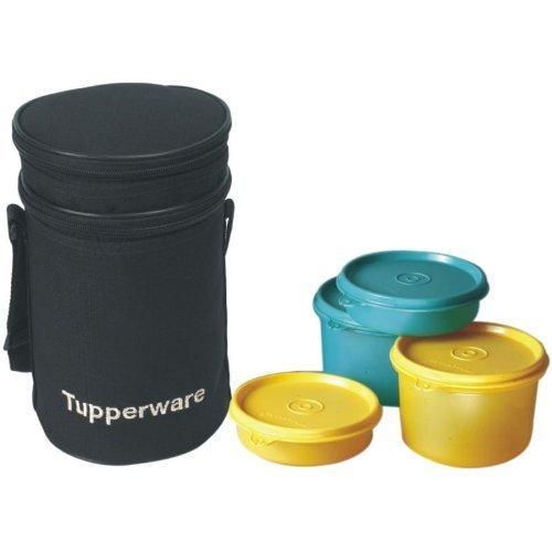 Tupperware Executive Lunch-Set mit Tasche, 4-teilig (186B) -