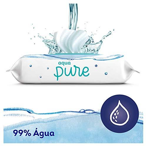 Imagen para Dodot Aqua Pure Toallitas Bebé con 99% Agua,  9 Paquetes x  48 Toallitas (432)