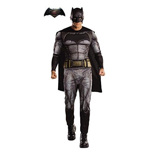 Rubies 820951XL - Disfraz oficial de Batman de DC Warner Bros Justice League para hombre, talla XL 1
