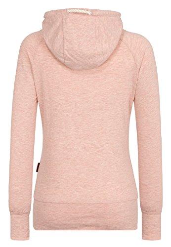 Naketano Mandy XI W sweat à capuche Pastel Pink Melange