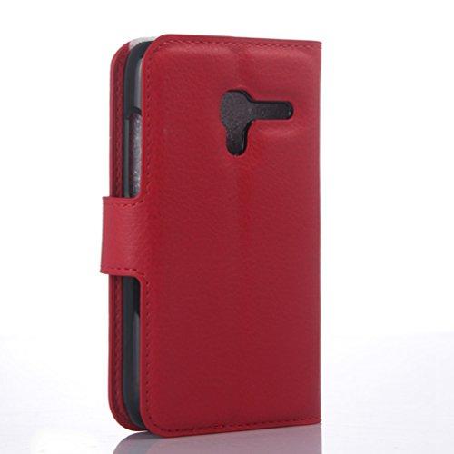 Manyip Téléphone Coque - PU Cuir rabat Wallet Housse [Porte-cartes] multi-Usage Case Coque pour pour Alcatel One Touch D3 OT4035X Classique Mode affaires Style(JFC3-10) G