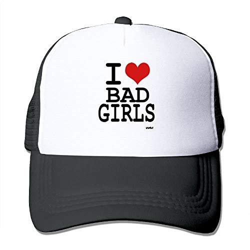 Love Bad Girls by WAM Big Foam Snapback Caps Mesh Back Adjustable Cap (Hat Wolf Big Bad)