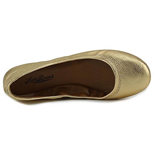 Lucky Brand Emmie Large Synthétique Ballerines gold