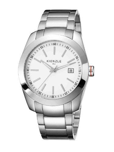 Kienzle - K3011011052-00006 - Montre Homme - Quartz Analogique - Bracelet Acier Inoxydable Blanc