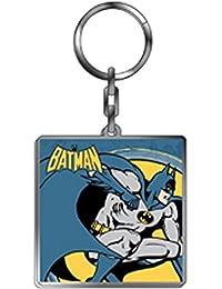 DC Comic - Retro Batman Metall Schlüsselanhänger (The Dark Knight)