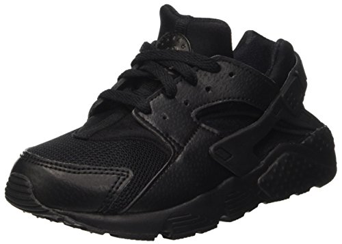 nike-huarache-run-ps-chaussures-de-course-garcon-multicolore-multicolore-black-black-black-30-eu-eu