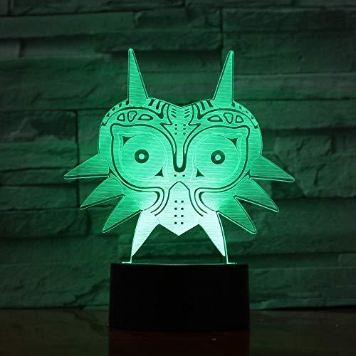 FaceToWind Luz Noche acrílico 3D Leyenda Zelda Figura