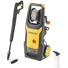 Stanley 14128 - Hidrolimpiadora, motor universal con mini patio y cepillo fijo (125 bar, 1600 W)