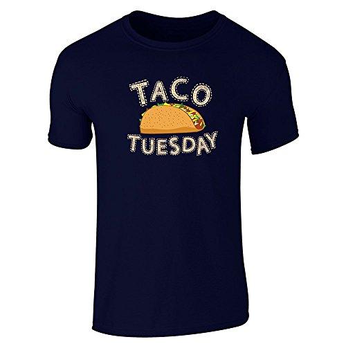 pop-threads-mens-taco-tuesday-navy-blue-l-short-sleeve-t-shirt