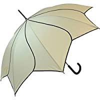 Beige Swirl Umbrella