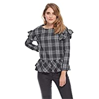 Iconic Ruffle Top for Women - Multi Color