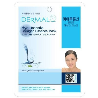 Dermal Korea Collagen Essence Full Face Facial Mask Sheet - Hyaluronate by Dermal