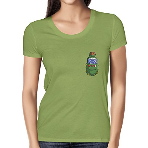 TEXLAB - Potion in a Pocket - Damen T-Shirt Kiwi