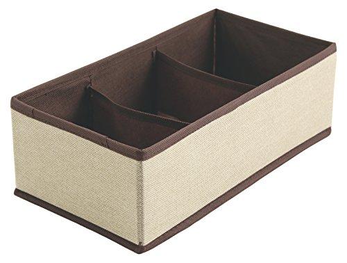 galileo-casa-organizerbeauty-organizer-cassetto-3-scomparti-tnt-avorio-31-x-16-x-10-cm