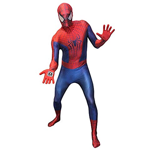 Aptafêtes - CS97065/M - Seconde Peau - Morphsuit Amazing Spiderman 2 Digital - Taille M