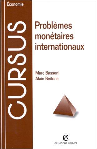 Problèmes monétaires internationaux, 3e édition