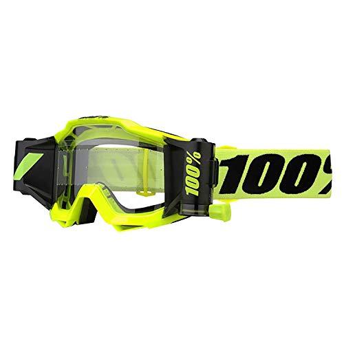 100% 50220-004-02 ACCURI Forecast Brille Fluo Gelb - klar Linse