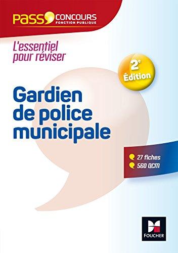 Pass'Concours - Gardien de police municipale - Catégorie C - Entrainement et révision par Isabelle Prouteau
