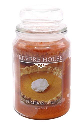 Candle-lite - Duftkerze im Glas, Pumpkin Spice 652g, Orange, 10 x 10 x 18.5 cm -
