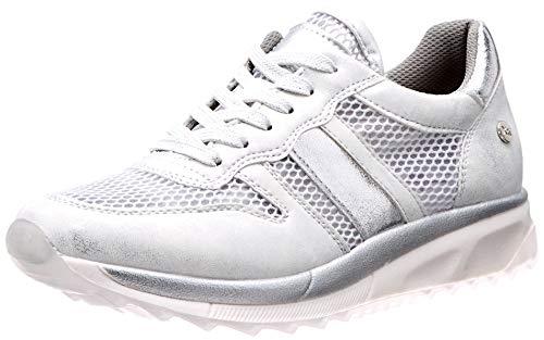 XTI 49009, Zapatillas Mujer, Plateado Plata, 39 EU